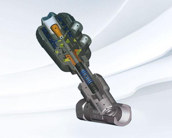 2000/3000型角座控制阀